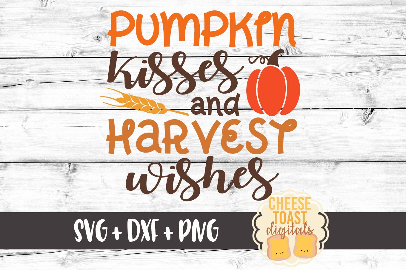 Download Free Pumpkin Kisses And Harvest Wishes Svg Graphic By for Cricut Explore, Silhouette and other cutting machines.