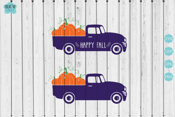 Pumpkin Truck Graphic Crafts By creativespace