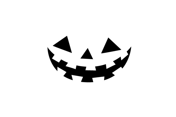 Pumpkin Face Halloween Craft Cut File By Creative Fabrica Crafts - Image 1