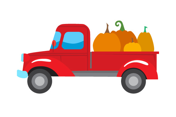 Pumpkin Truck Thanksgiving Craft Cut File By Creative Fabrica Crafts - Image 1