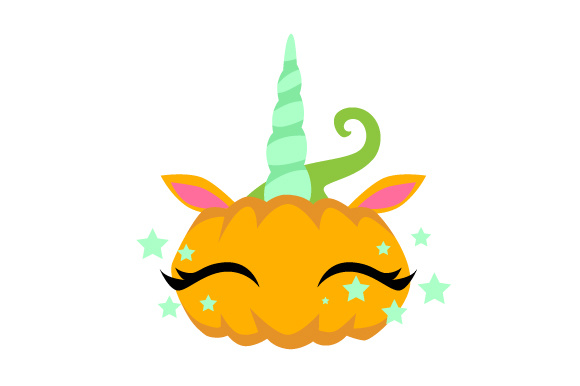 Download Free Pumpkin Unicorn Svg Cut File By Creative Fabrica Crafts for Cricut Explore, Silhouette and other cutting machines.