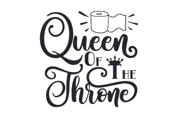Queen of the Throne Christmas Craft Cut File By Creative Fabrica Crafts