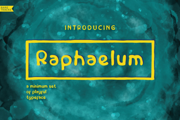 Print on Demand: Raphaelum Script & Handwritten Font By raretracks