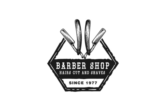 Download Free Razor Blade Logo Graphic By Yahyaanasatokillah Creative Fabrica for Cricut Explore, Silhouette and other cutting machines.
