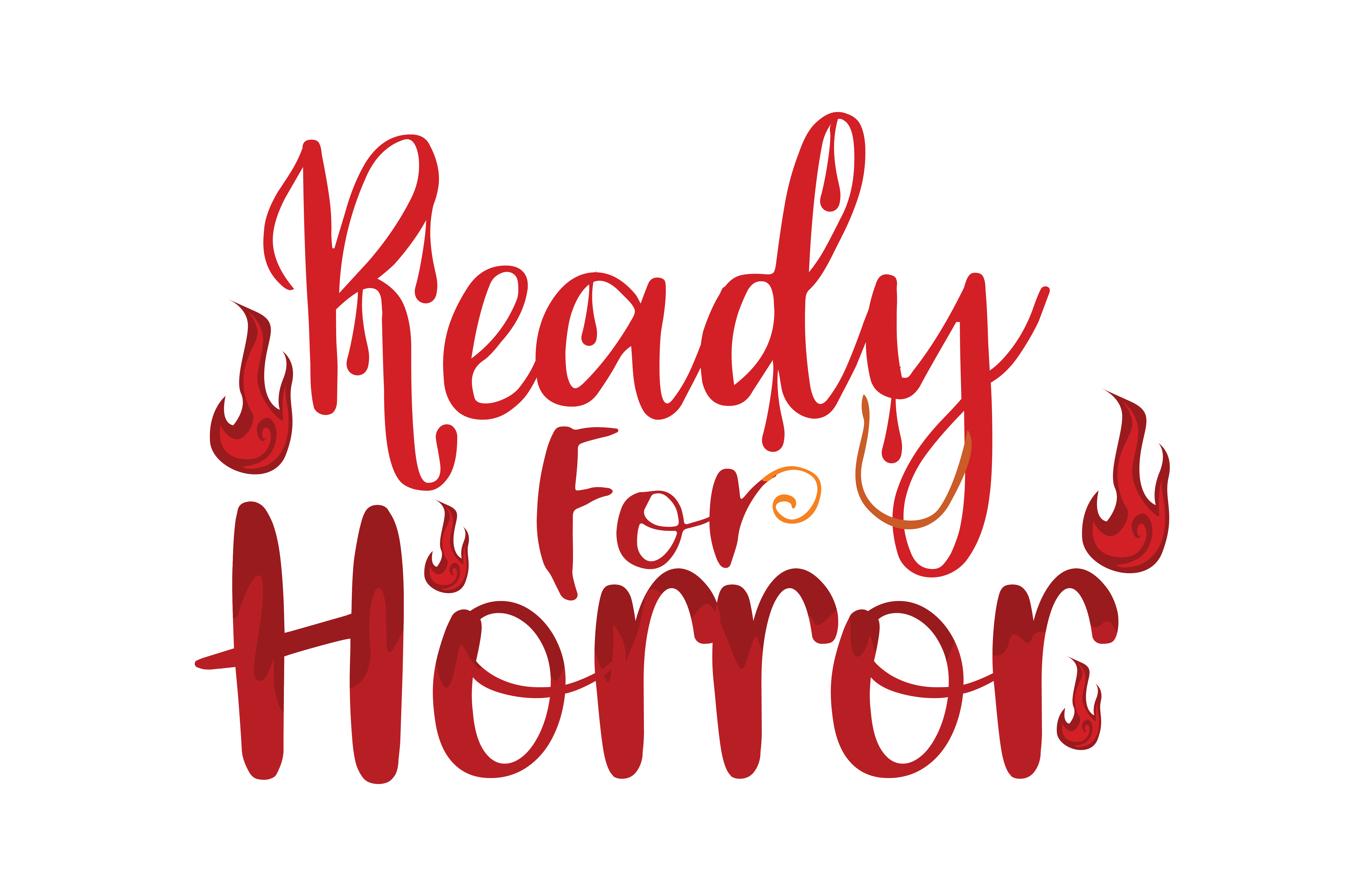 Download Free Ready For Horror Graphic By Thelucky Creative Fabrica for Cricut Explore, Silhouette and other cutting machines.