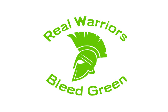 Download Free Real Warriors Bleed Green Boy Design Svg Cut File By Creative for Cricut Explore, Silhouette and other cutting machines.