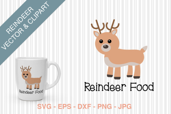 Reindeer Food SVG Graphic Crafts By Kristy Hatswell - Image 3