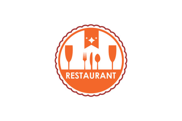 Restaurant Logo Graphic Logos By Friendesigns