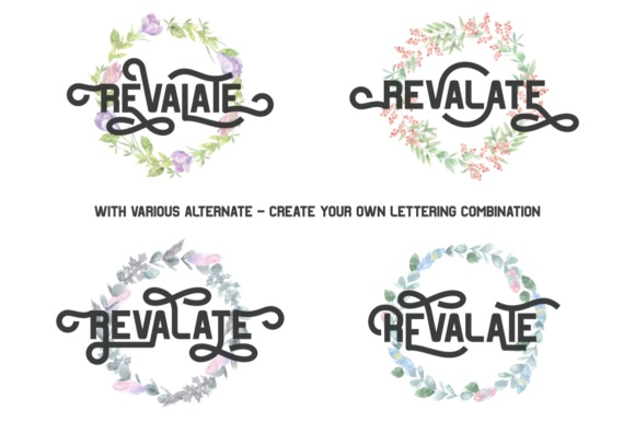 Revalate Font By putracetol Image 2
