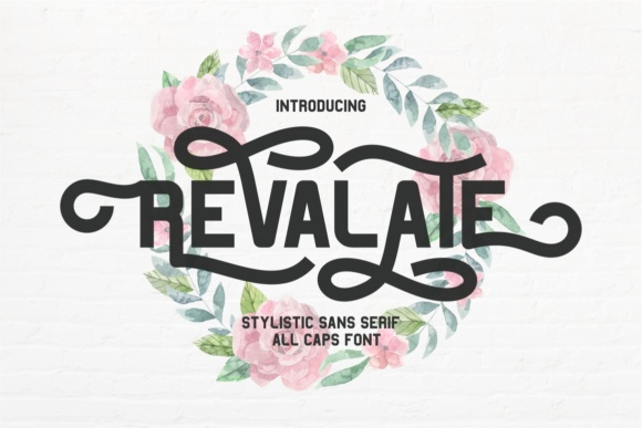 Print on Demand: Revalate Sans Serif Font By putracetol