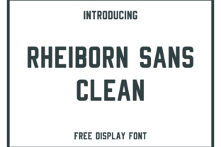 Rheiborn Font By Creative Fabrica Freebies