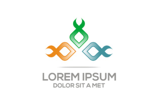 Ribbon Logo Style Concept Business Vector Graphic Logos By Acongraphic