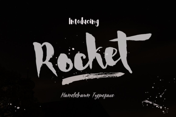 Print on Demand: Rocket Display Font By Jorse