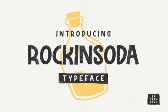 Print on Demand: Rockinsoda Display Font By 24Design Studios