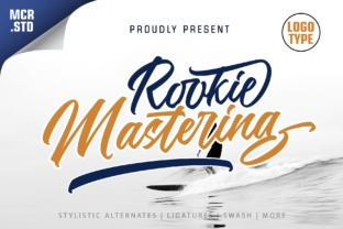 Rookie Mastering Font By Mercurial