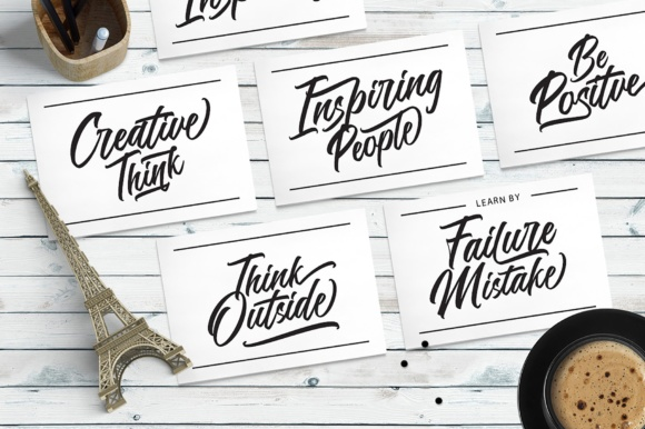 Print on Demand: Rookie Mastering Script & Handwritten Font By Mercurial - Image 7