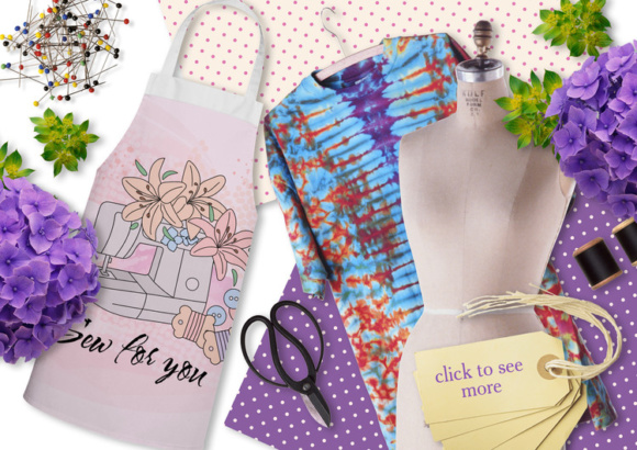 SEW for YOU Color Vector Illustration Set Graphic By FARAWAYKINGDOM Image 2
