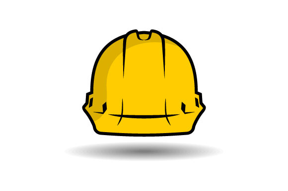 Download Free Safety Helmet Vector Graphic By Hartgraphic Creative Fabrica for Cricut Explore, Silhouette and other cutting machines.