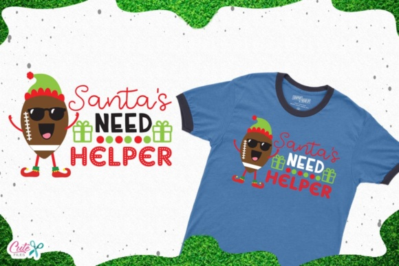Download Free Santas Need Helper Svg Cut Files For Craftter Graphic By Cute for Cricut Explore, Silhouette and other cutting machines.