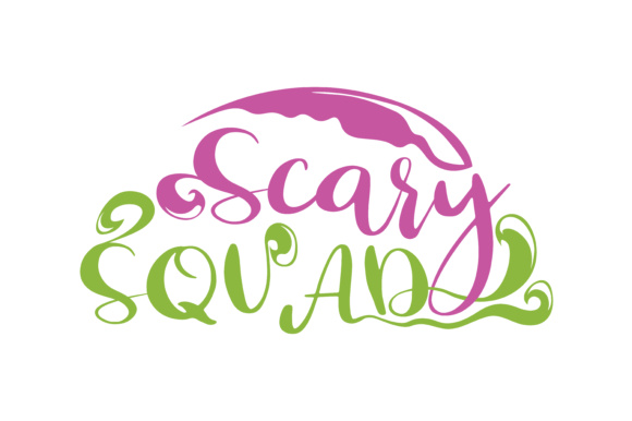 Print on Demand: Scary Squad Graphic Crafts By TheLucky