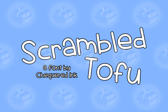 Print on Demand: Scrambled Tofu Script & Handwritten Font By Chequered Ink