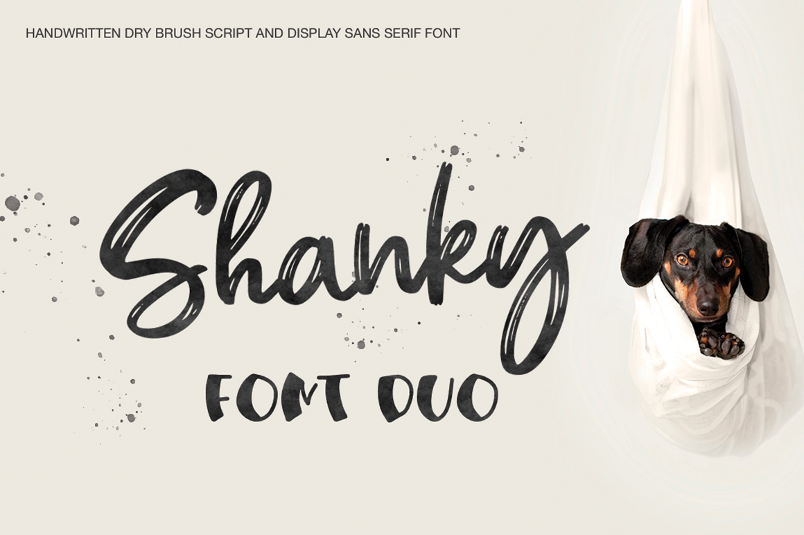 Download Free Shanky Font By Pasha Larin Creative Fabrica for Cricut Explore, Silhouette and other cutting machines.