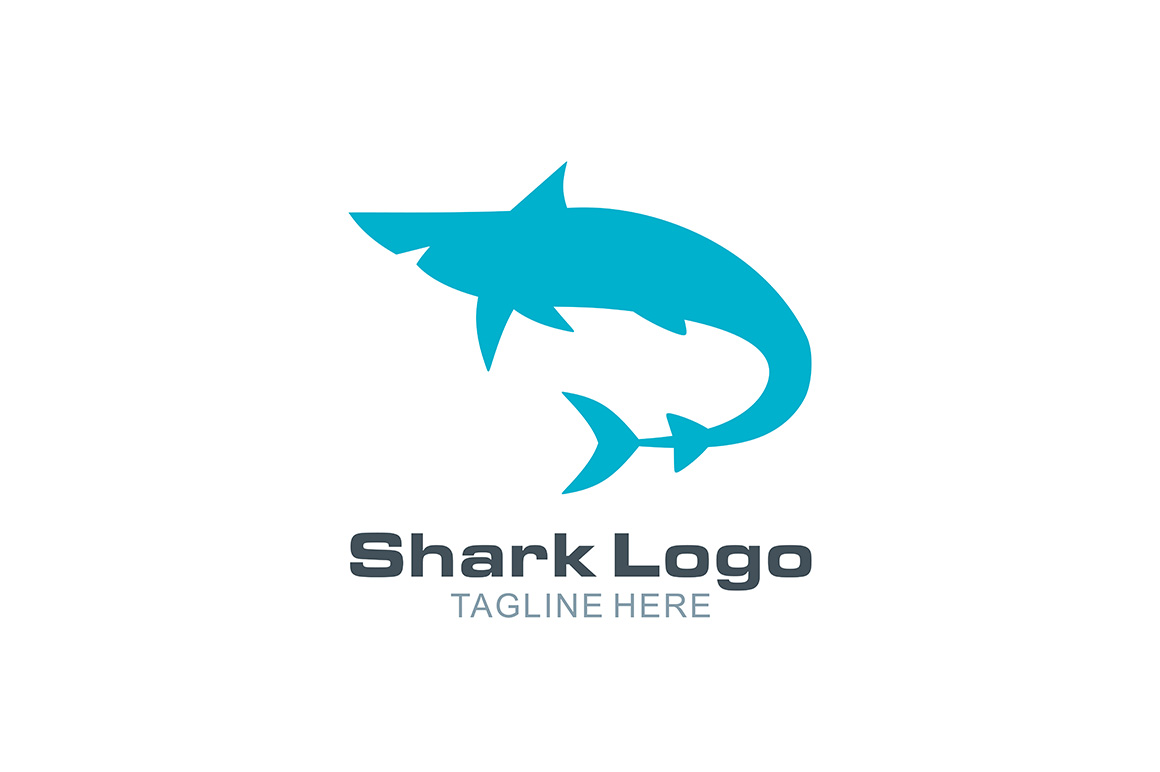 Download Free Shark Logo Graphic By Thehero Creative Fabrica for Cricut Explore, Silhouette and other cutting machines.