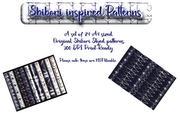 Print on Demand: Shibori Styled Graphics Graphic Patterns By Angela H. Evans