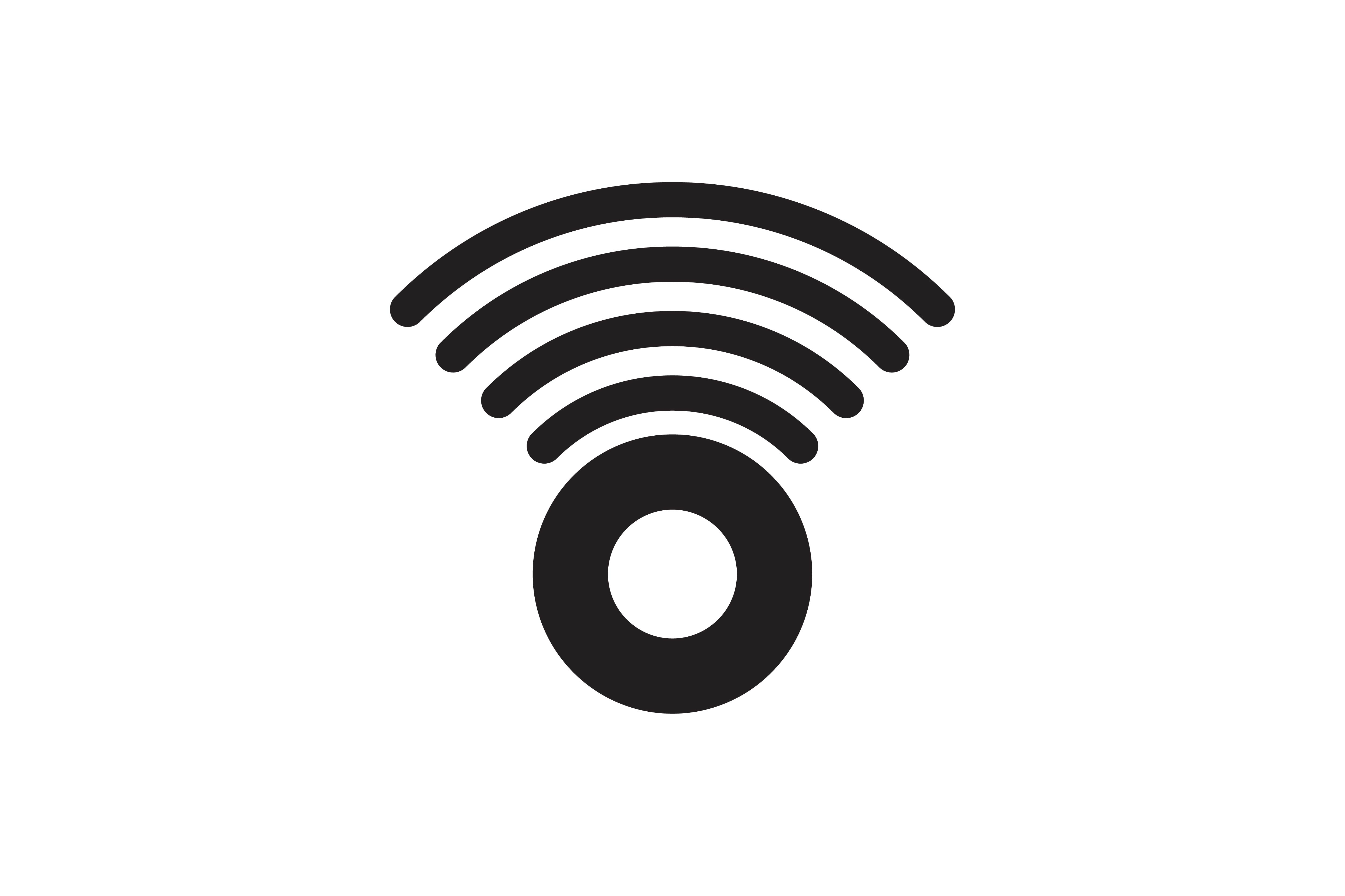 Download Free Signal Wifi Radar Logo Graphic By Yahyaanasatokillah for Cricut Explore, Silhouette and other cutting machines.