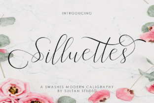 Silluettes Font By Sulthan Studio
