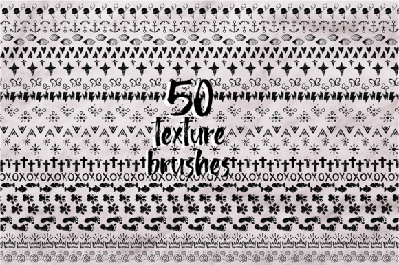 Print on Demand: Sketch Illustrator Brush Set Bundle +100 Elements Graphic Illustrations By arausidp - Image 7