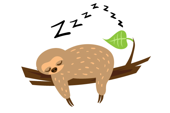 Download Free Sloth Sleeping Svg Cut File By Creative Fabrica Crafts for Cricut Explore, Silhouette and other cutting machines.