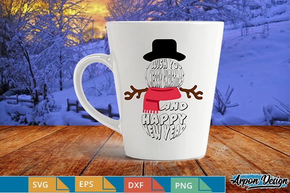 Download Free Snowman Clipart Graphic By Arpondesign Creative Fabrica SVG Cut Files