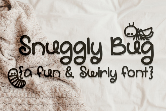 Print on Demand: Snuggly Bug Script & Handwritten Font By Scout and Rose Design Co