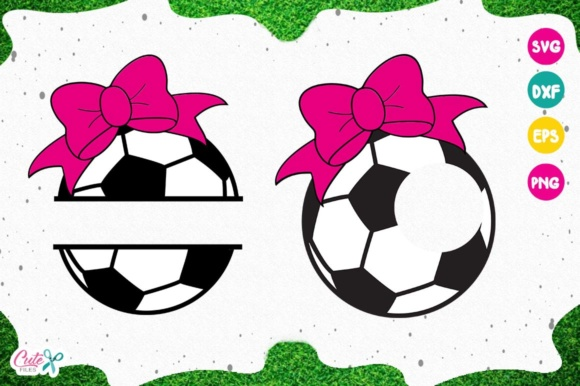 Download Free Soccer Monogram Sport Cut Files For Craftters Graphic By Cute for Cricut Explore, Silhouette and other cutting machines.