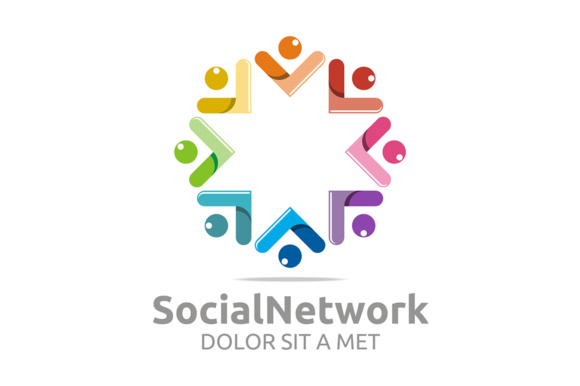Social Network Graphic Logos By Acongraphic