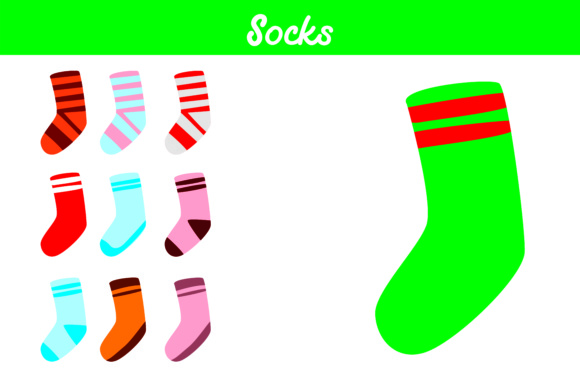 Print on Demand: Socks Bundle Graphic Illustrations By Arief Sapta Adjie
