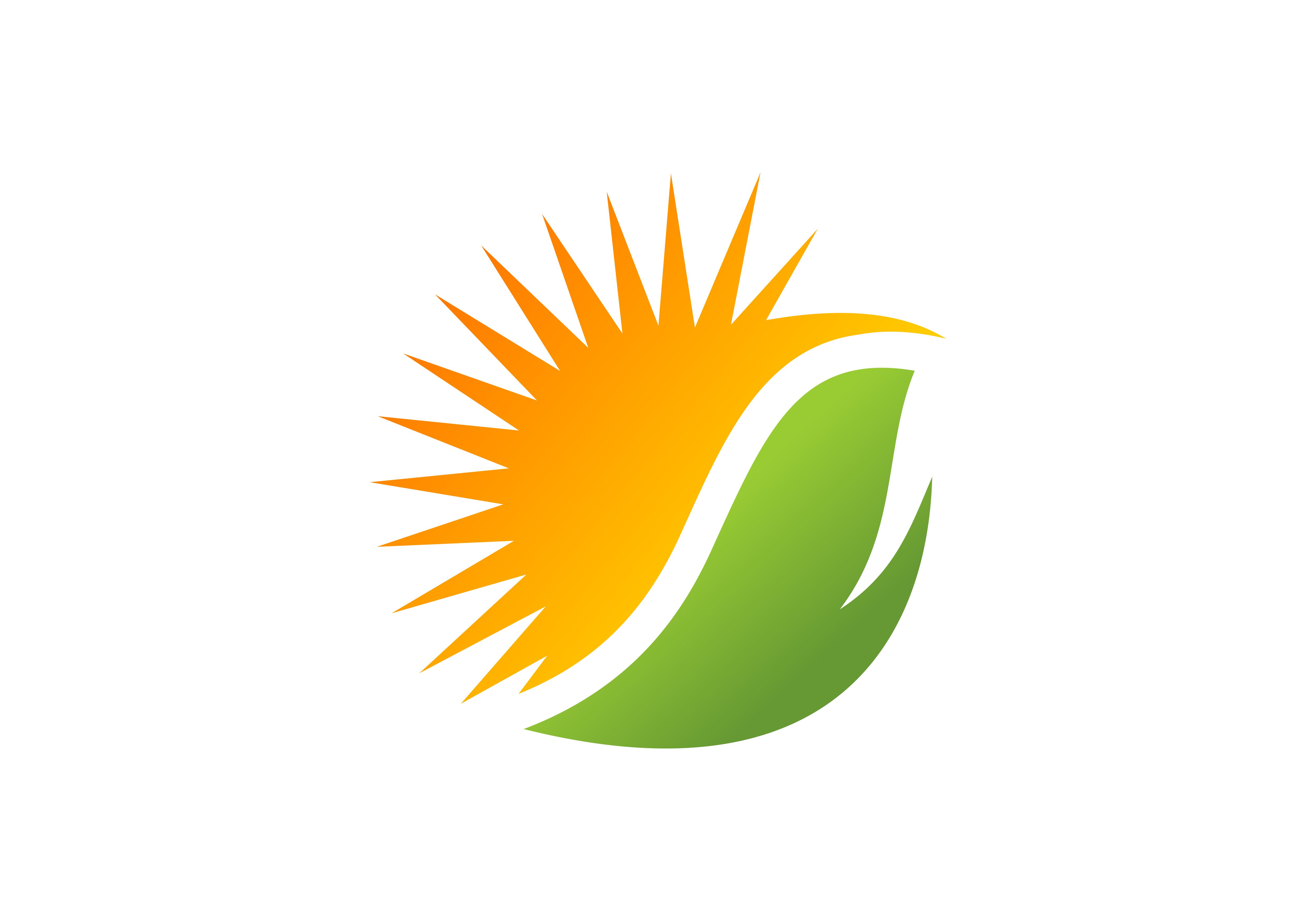 Download Free Solar Energy Logo Graphic By Deemka Studio Creative Fabrica for Cricut Explore, Silhouette and other cutting machines.