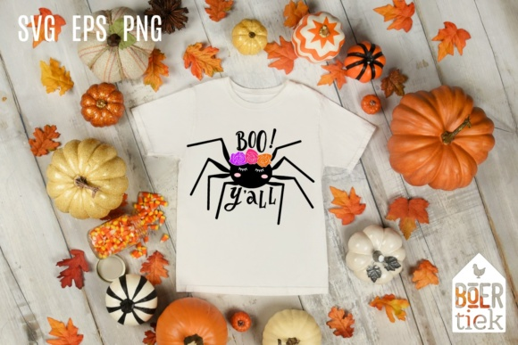 Download Free Spider Sweet Boo Y All Halloween Svg File Graphic By SVG Cut Files