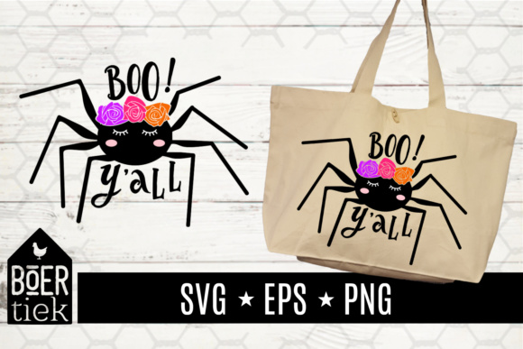 Download Free Spider Sweet Boo Y All Halloween Svg File Graphic By for Cricut Explore, Silhouette and other cutting machines.