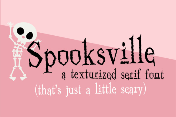 Print on Demand: Spooksville Serif Font By Illustration Ink