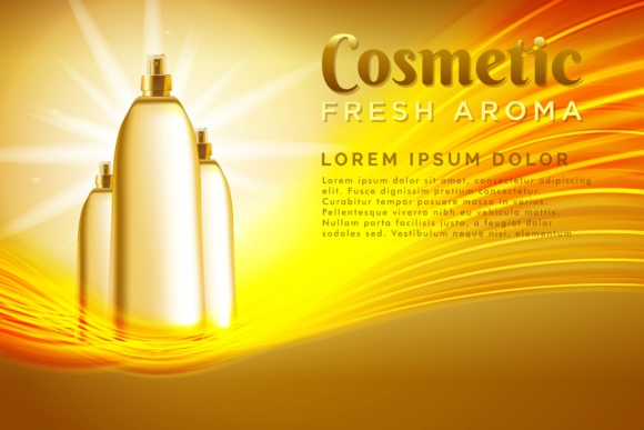 Print on Demand: Spray Cosmetics Product Background Gráfico Fondos Por ojosujono96
