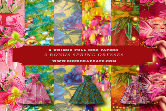 Springtime Bold and Beautiful Florals Graphic By Sojournstar