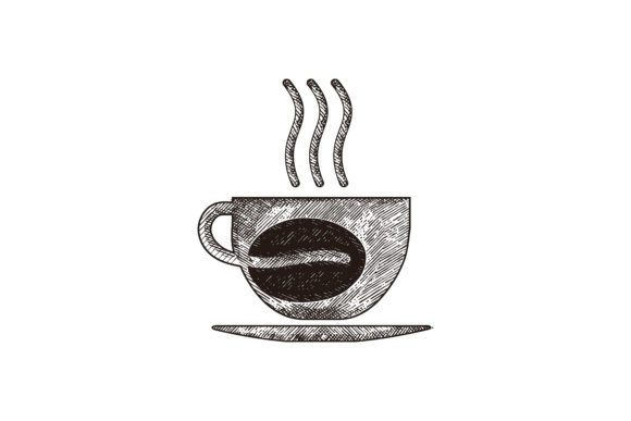 Download Free Steam Coffee Logo Graphic By Yahyaanasatokillah Creative Fabrica for Cricut Explore, Silhouette and other cutting machines.