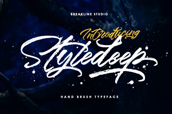 Print on Demand: Styledeep Script & Handwritten Font By Mercurial