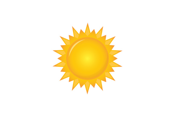 Download Free Sun Vector Icon Graphic By Sabavector Creative Fabrica for Cricut Explore, Silhouette and other cutting machines.