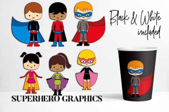 Print on Demand: Superhero Graphic Illustrations By DarraKadisha