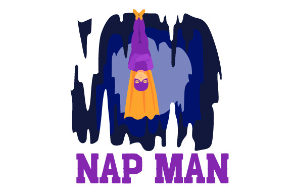 Download Free Superhero Sleeping Upside Down In A Cave Napman Svg Cut File By Creative Fabrica Crafts Creative Fabrica for Cricut Explore, Silhouette and other cutting machines.