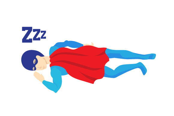 Download Free Superhero With His Face First On The Floor Sleeping Svg Cut File for Cricut Explore, Silhouette and other cutting machines.