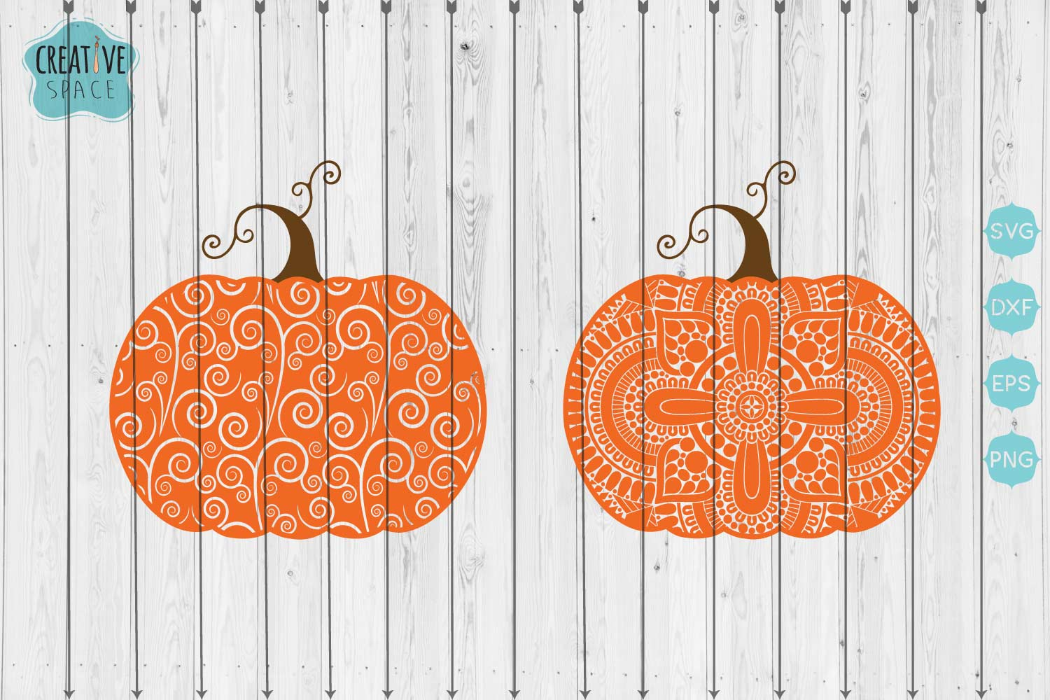 Download Free Swirly Pumpkin Graphic By Creativespace Creative Fabrica for Cricut Explore, Silhouette and other cutting machines.